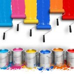 colourful painters