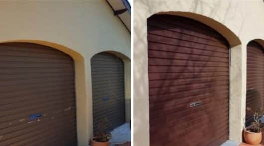 Garage Painting Castle Hill - Before and After