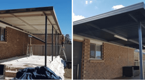 Exterior House Painting Mt. Druitt - Before and After
