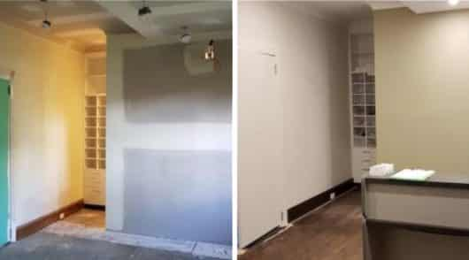 House Interior Painting Burwood - Before and After