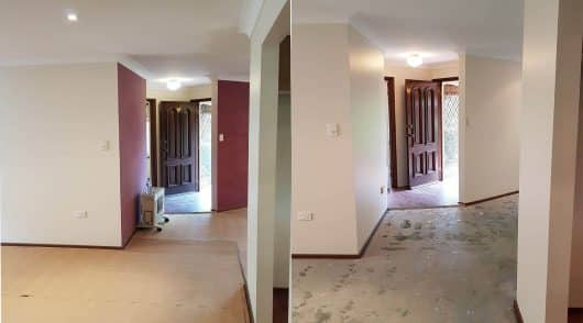 Interior Painting Gosford Before and After