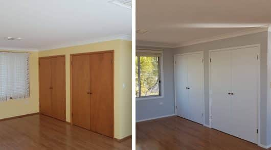 Interior Painting Baulkham Hills before and after